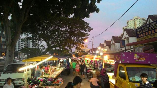 Sungai Dua Night Market