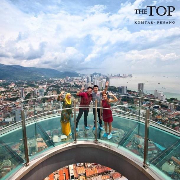 Penang The Top Komtar Rainbow Skywalk