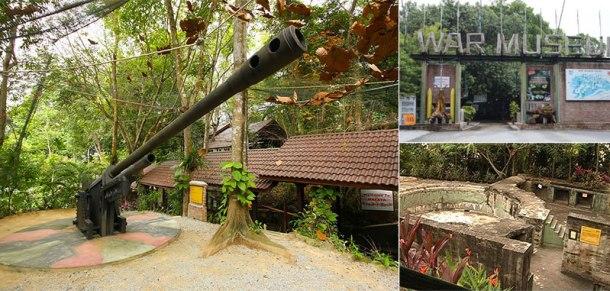 Penang War Muzeum Batu Maung