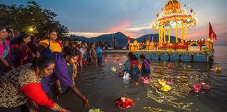 Penang Floating Chariot Procession