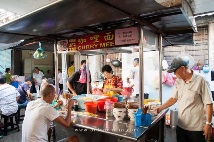 The famous Curry Mee in Bukit Mertajam Pek Kong Cheng