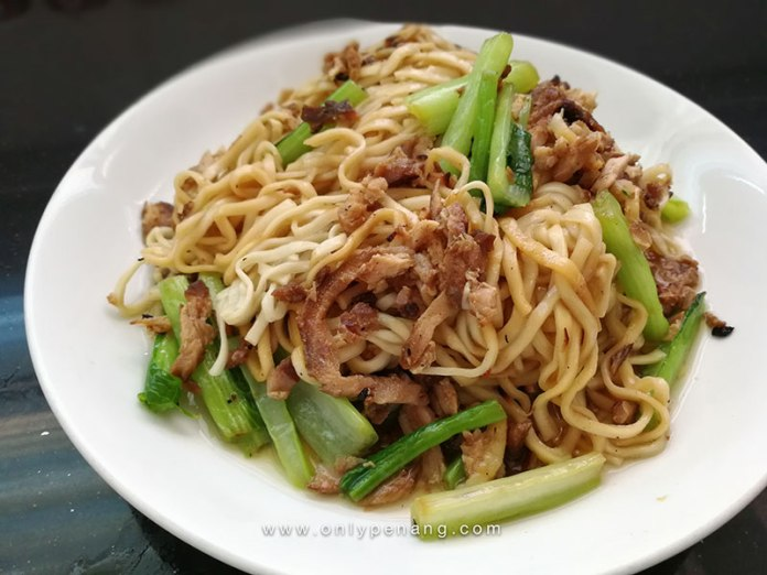 Traditional White Wantan Noodles