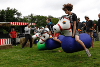 Team Building - Good Old Fashioned Fun! Inflatable Hoppers!