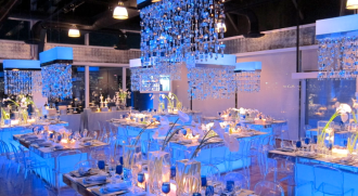 Custom Chandelier Centerpiece