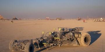 Man Got Hit By A Car While Sleeping at Burning Man