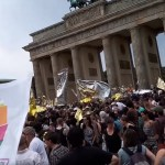 Protesters in Berlin outnumber far-right supporters