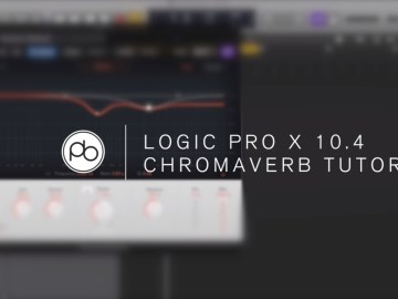 Logic Pro X Tutorial with Point Blank: Overview of ChromaVerb Reverb
