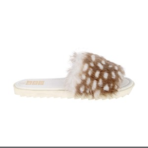 FSW fur sliders fsw white_2