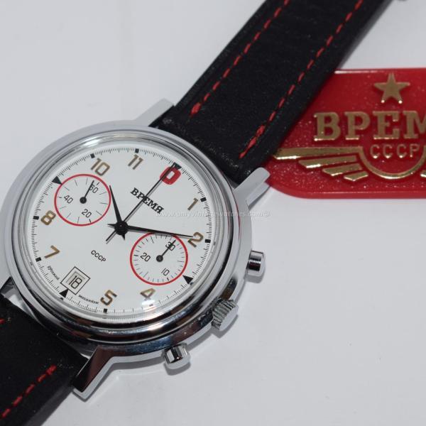 Vintage Vremia Poljot 3133 Chronograph