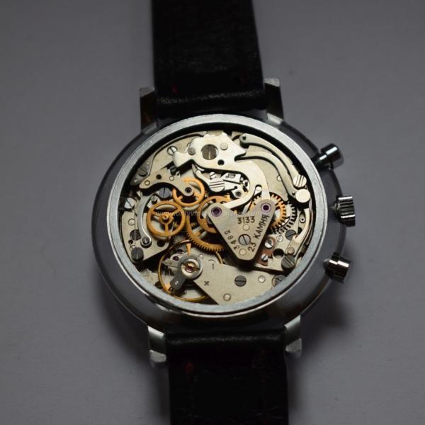 Vintage Vremia Poljot 3133 Chronograph movement 1