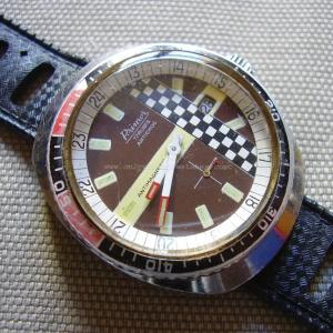 Vintage Primor Caliber FE 233-66 Racing Style Mechanical Wristwatch