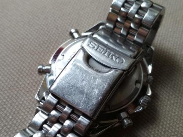 Vintage Seiko 7T34-6A90 Quartz Chronograph