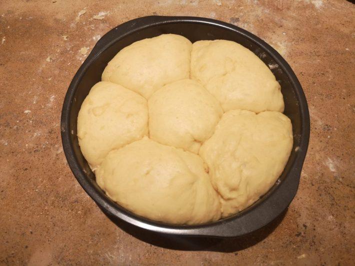 pâte à brioche ronde
