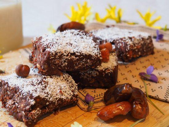 brownie cru vegan - raw food