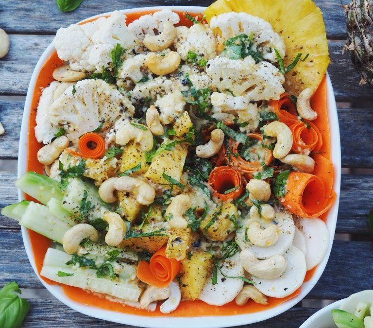 Pad Thaï aux légumes crus (végétarien)