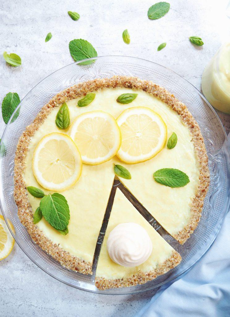 Tarte au citron végane, meringue végétalienne