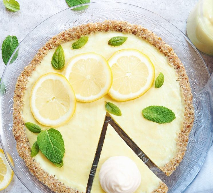 Tarte au citron version vegan et sans gluten