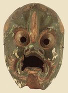 Karura, Gyodo mask, Heian Era 12th Century, Houryuu-ji Temple