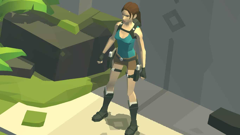Lara Croft Go on Windows Phone