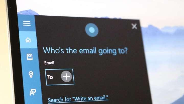 cortana email lead