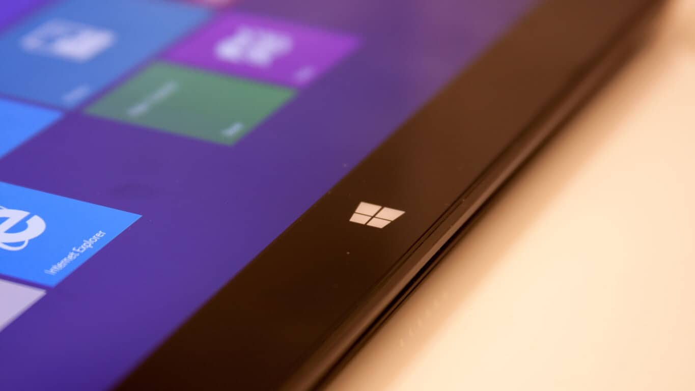 Black Microsoft Surface Device