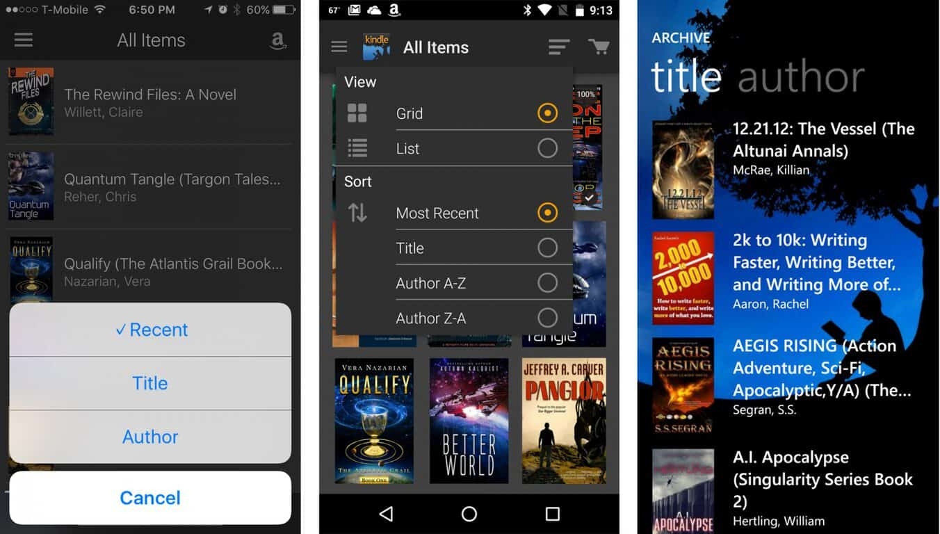The sorry state of ebooks on Windows 10 Mobile OnMSFT com