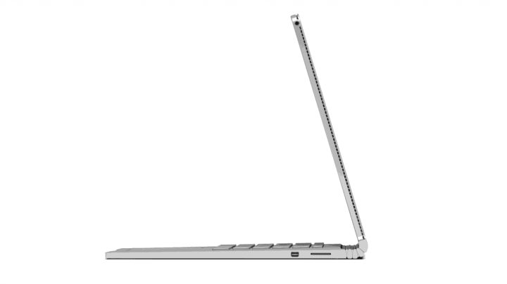 Surface Book side view.