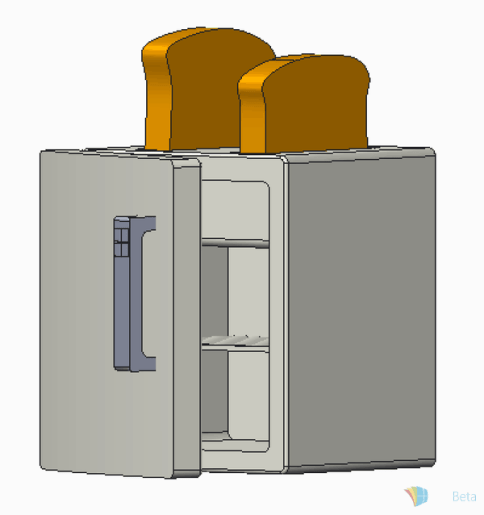 Toaster fridge