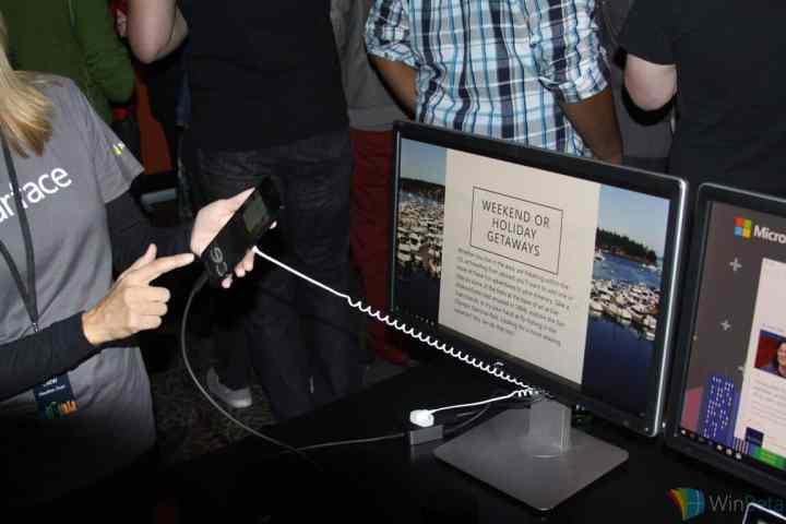 Lumia 950 Continuum setup.