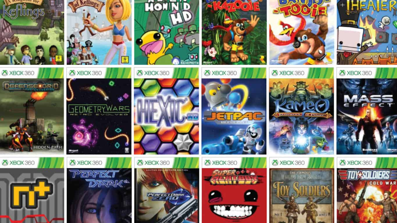 Is this the complete list of backwards compatible Xbox 360