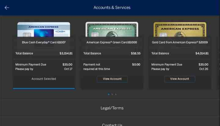 American Express Windows 10 App