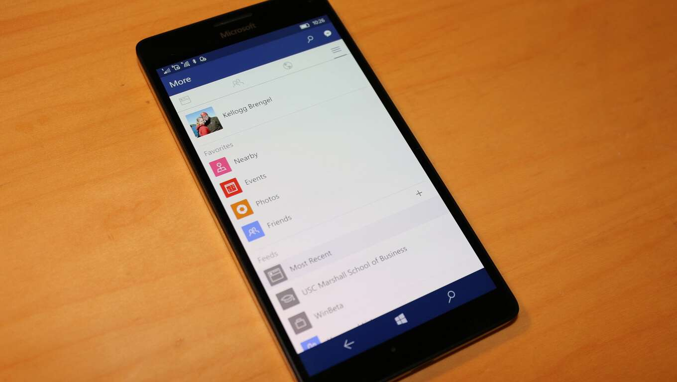 Facebook app for Windows 10 Mobile now available in Windows