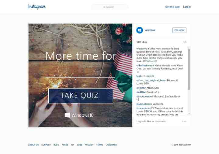 Microsoft Devices Take the Quiz