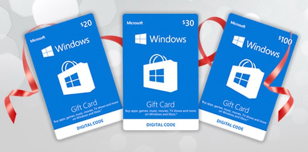 Windows Store Gift Cards