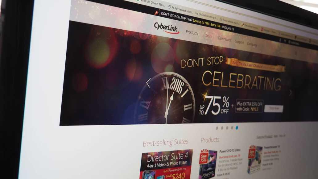 Deal: CyberLink has PowerDirector 14, PowerDVD 15 on sale