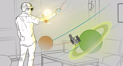 Space Concept FOV HoloLens Idea