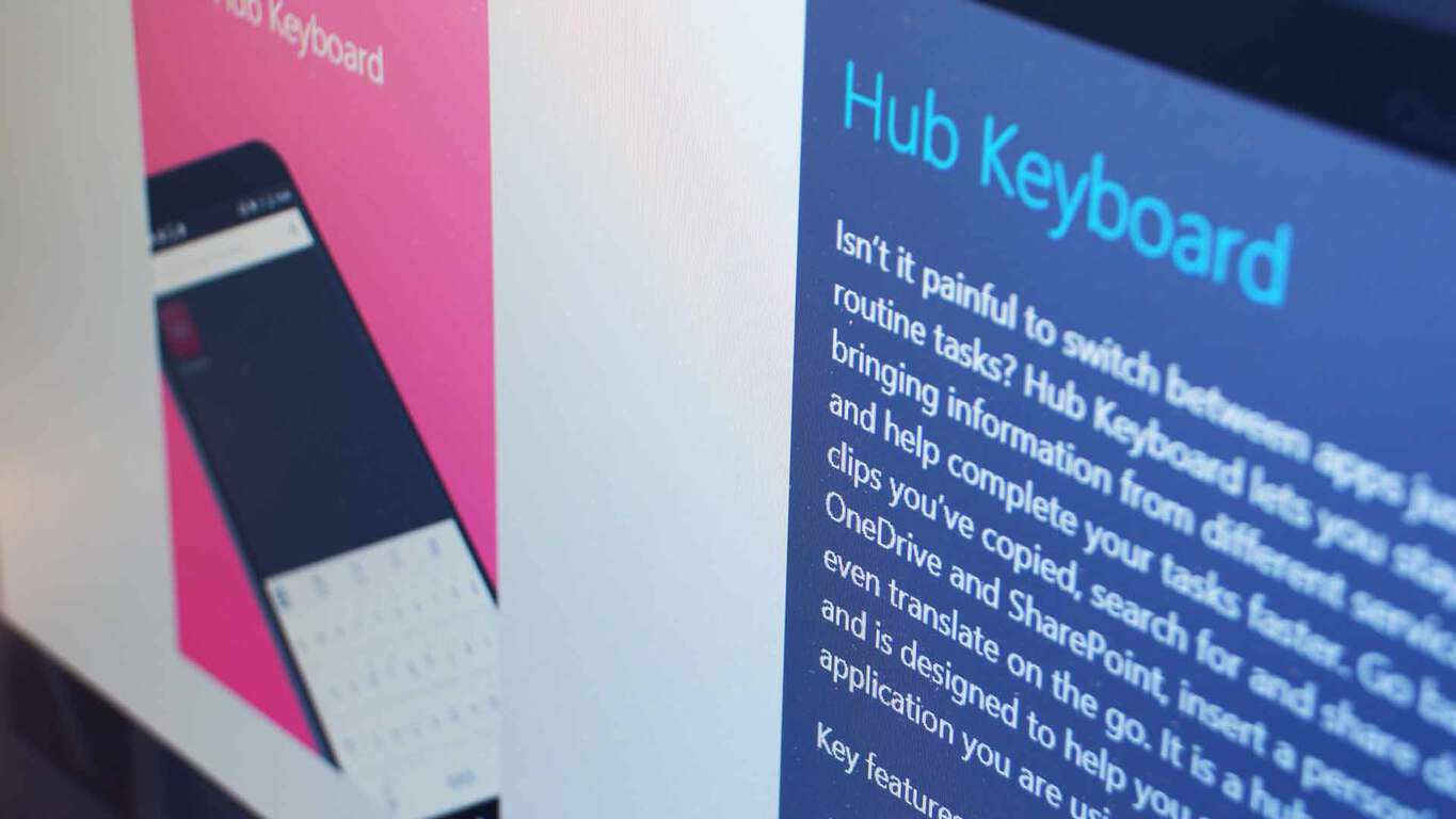 Microsoft Garage Hub Keyboard