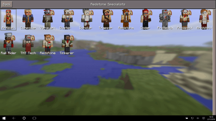 Minecraft Windows 10 Edition Beta 0.14.0 Redstone Specialist