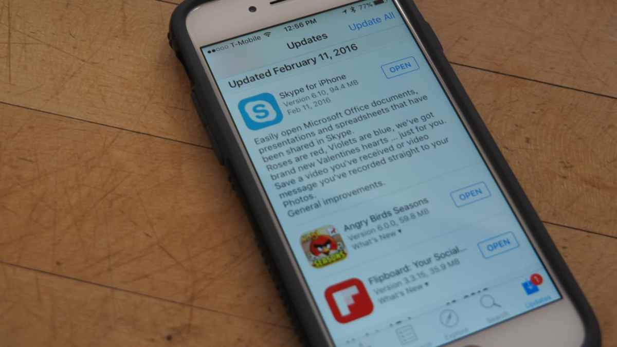 Skype for iPhone and iPad updated with bug fixes and performance