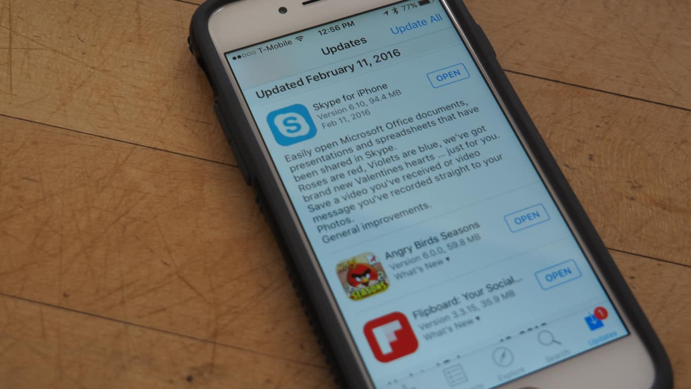 Skype preview for iOS updated with fixes for video messages