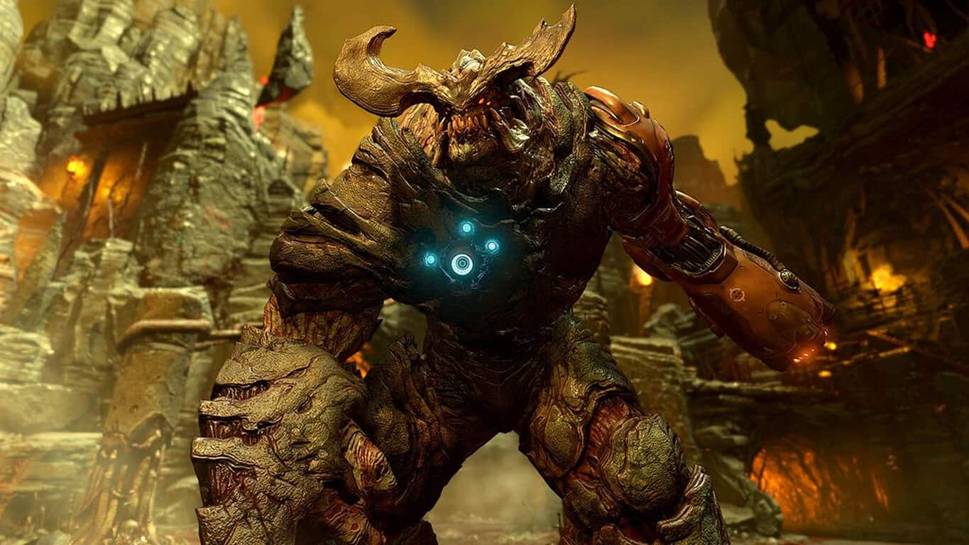 Doom on Xbox One