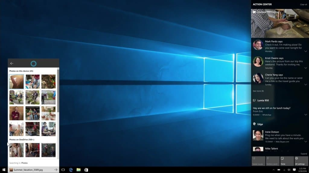 New Action Center features detailed, coming to Windows 10 PC, Mobile