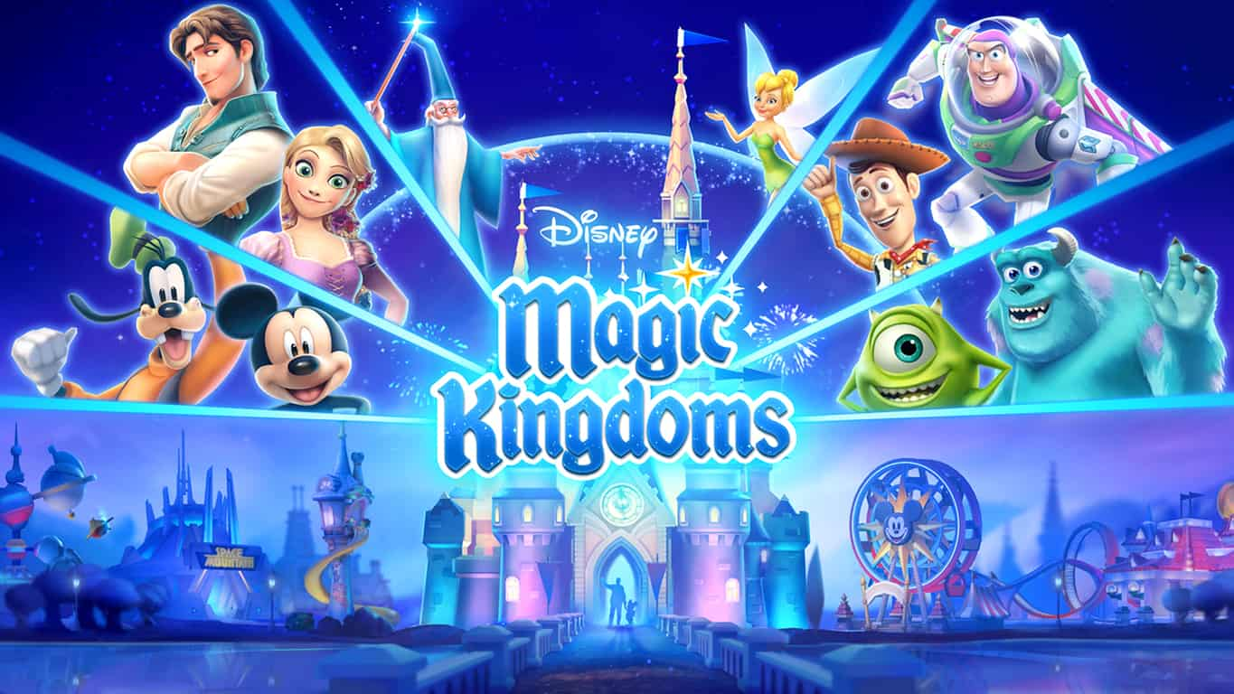 Disney Magic Kingdoms Video Game on Windows 10 PC and Windows 10 Mobile