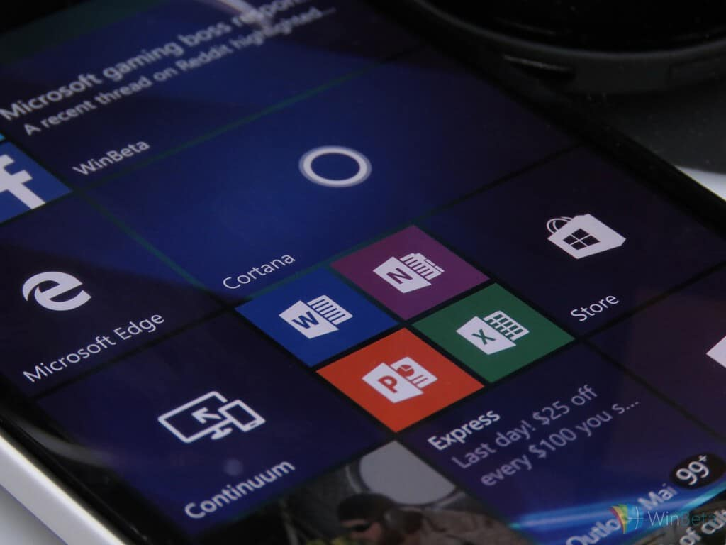 Microsoft dropping support for Windows 10 Mobile Office apps in 2021
