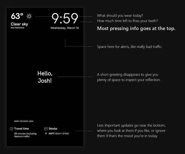 Microsoft provides some details on building a magic mirror with