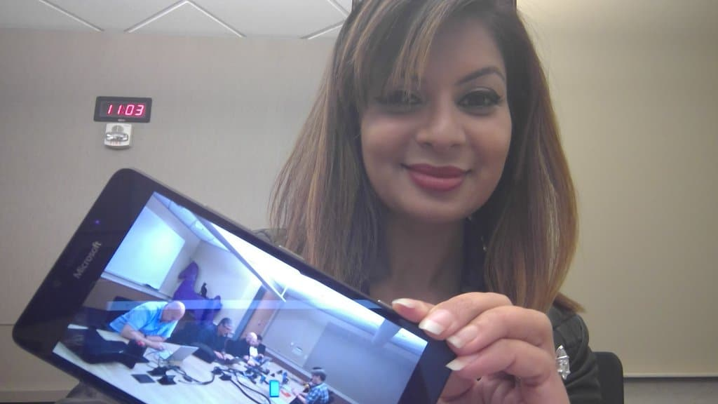 Dona Sarkar with the Windows team