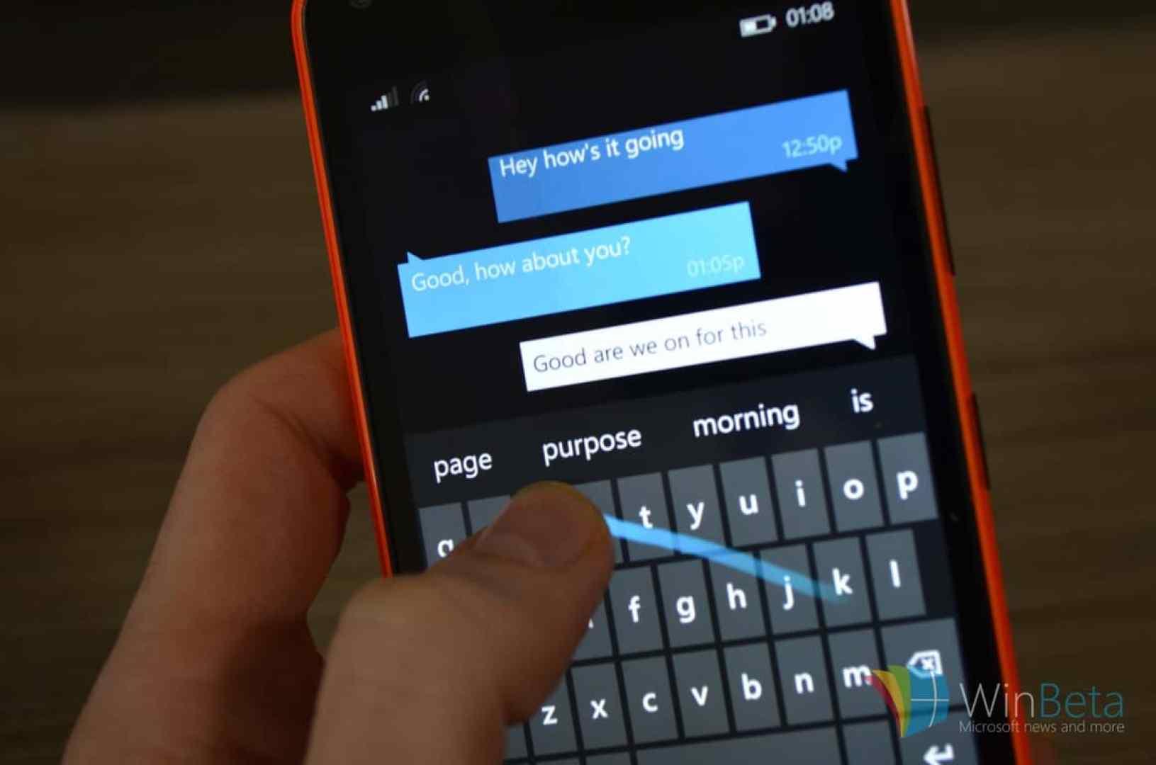 Lumia 640 Wordflow_0