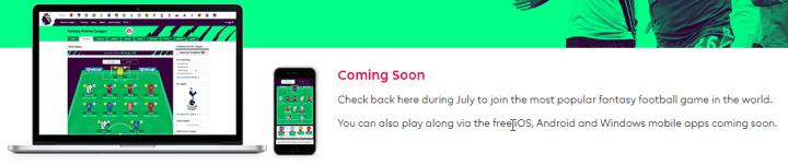 EA Sports Fantasy Football App coming soon