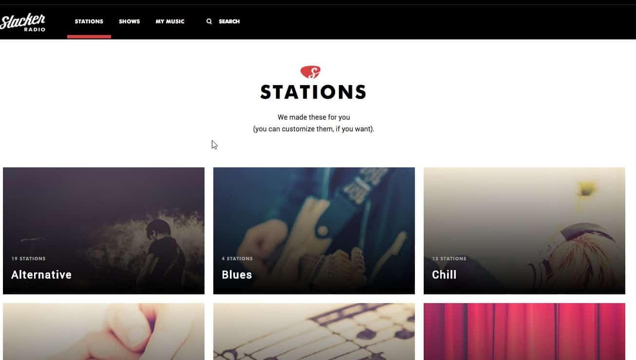 Slacker Featured
