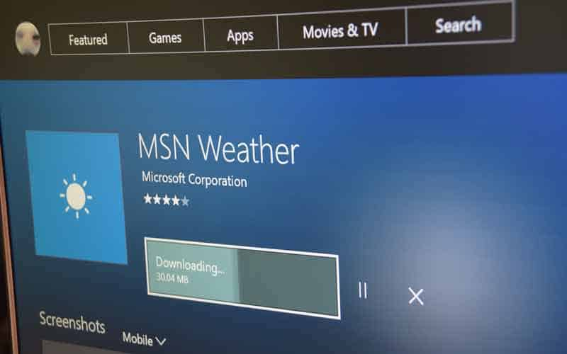 MSN Weather app appears in latest Xbox One Preview update OnMSFT com